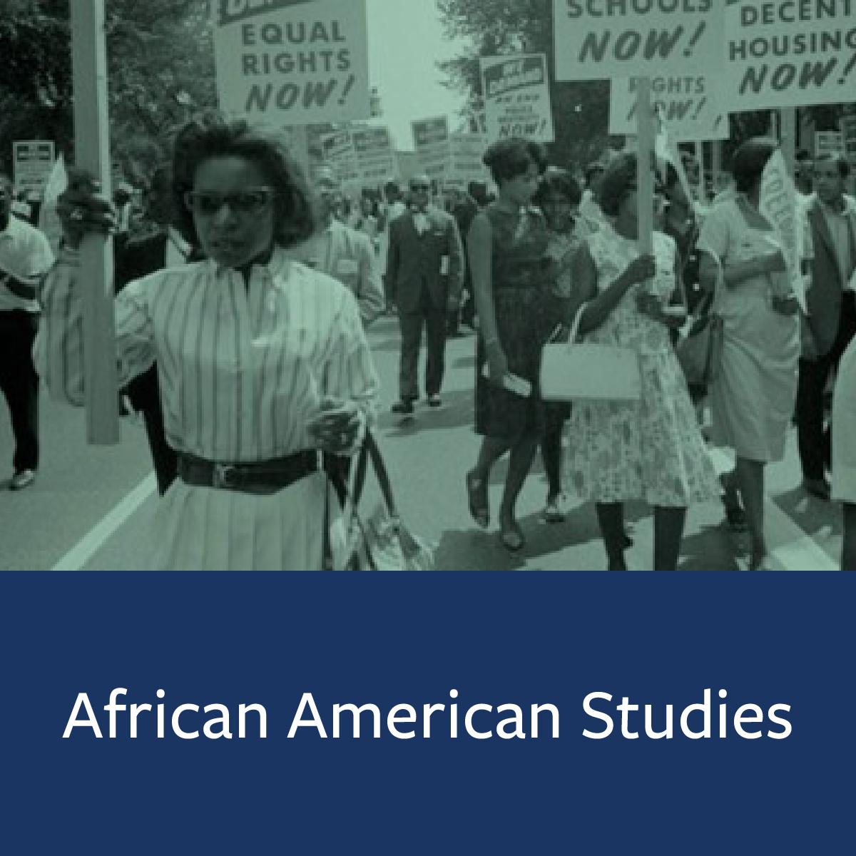 African American Studies Major Map