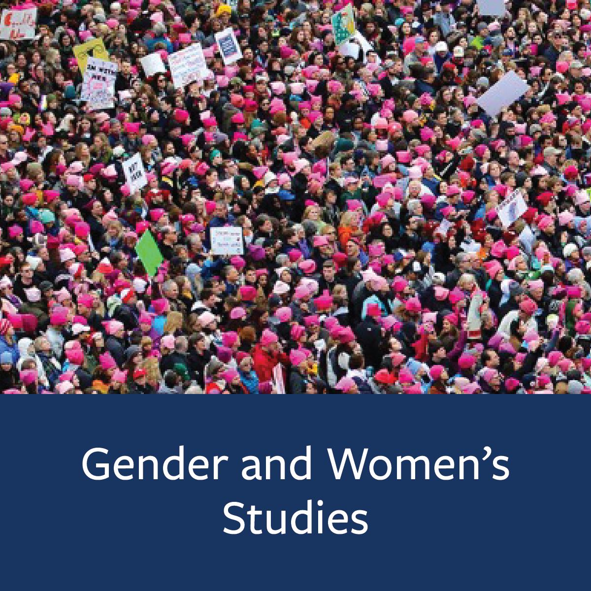 Gender and Women's Studies Major Map