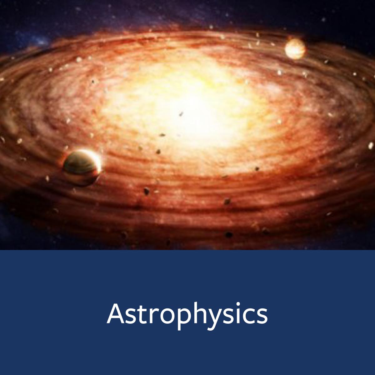 Astrophysics Major Map