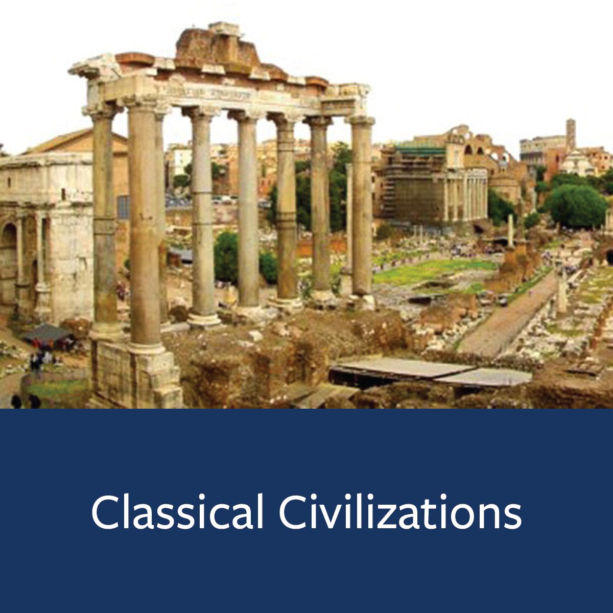 Classical Civilizations Major Map