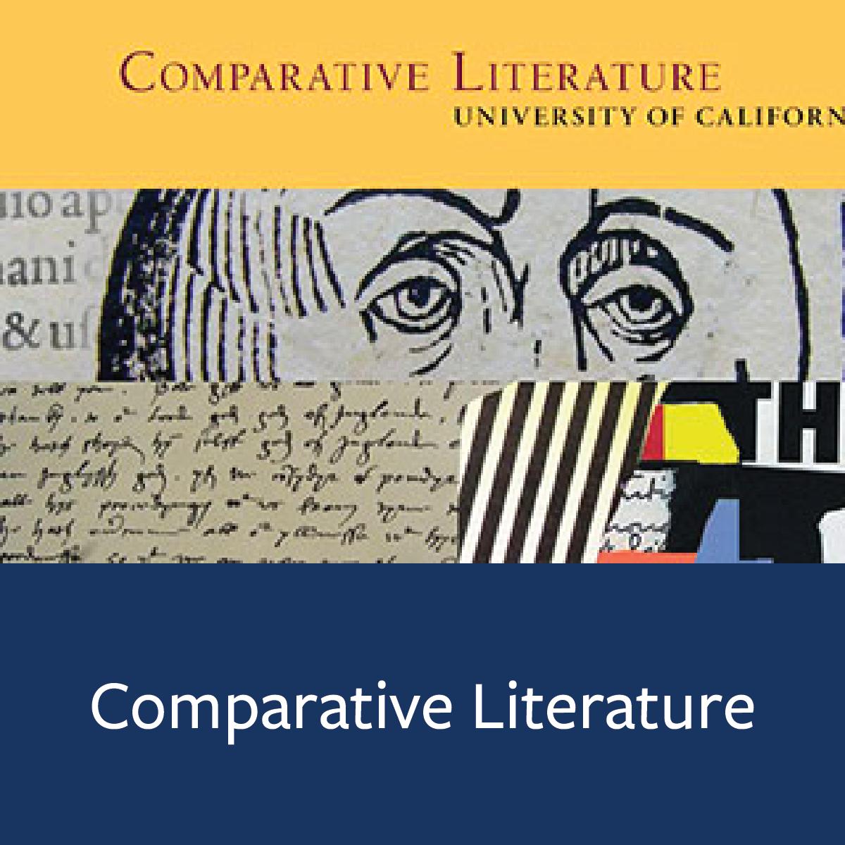 Comparative Literature Major Map