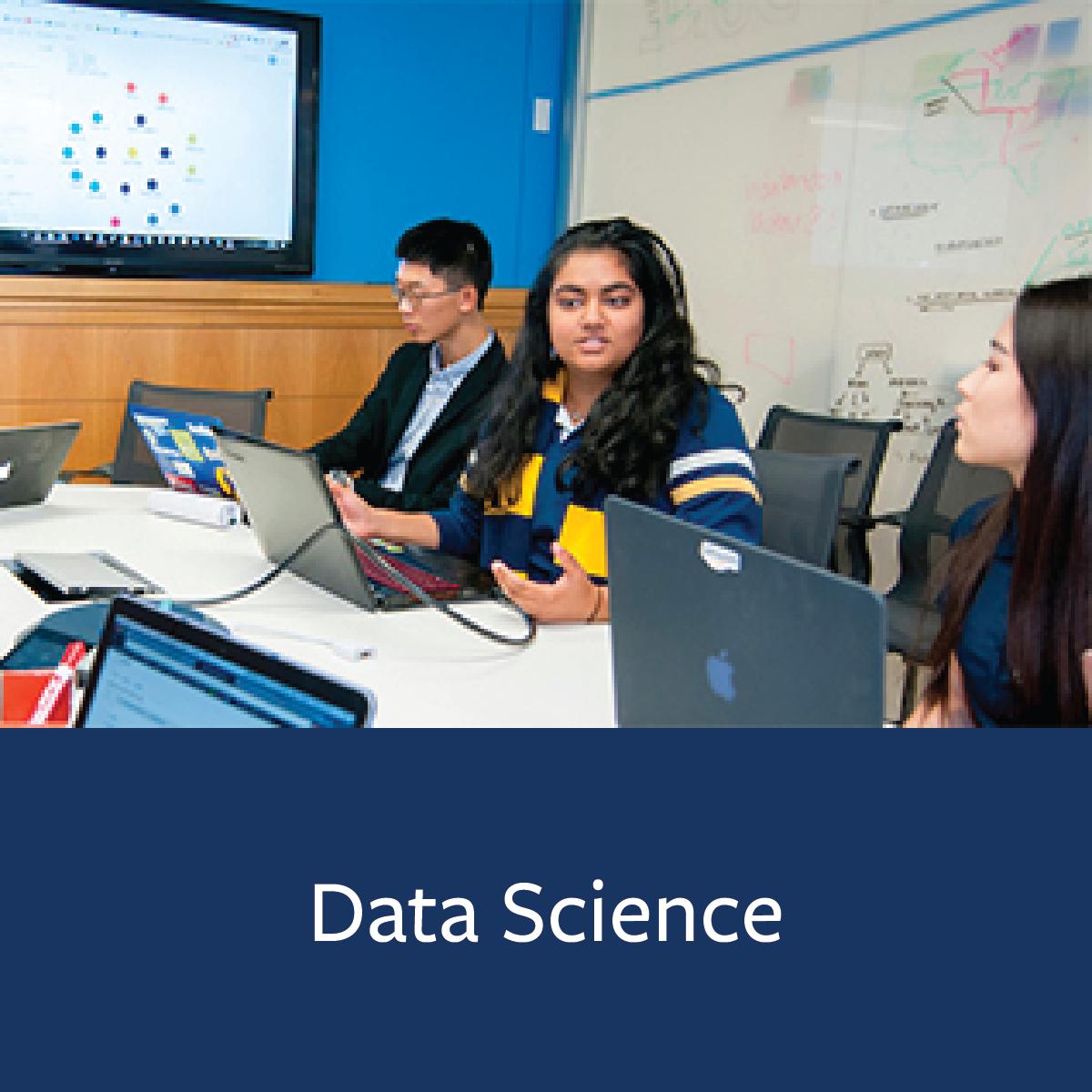 Data Science Major Map