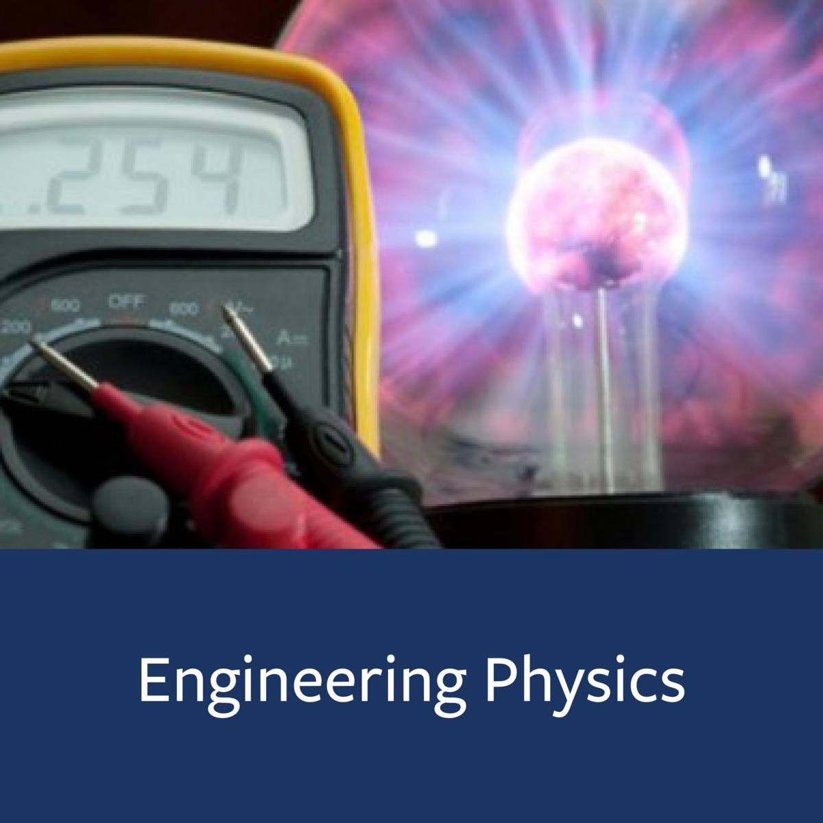 Engineering Physics Major Map
