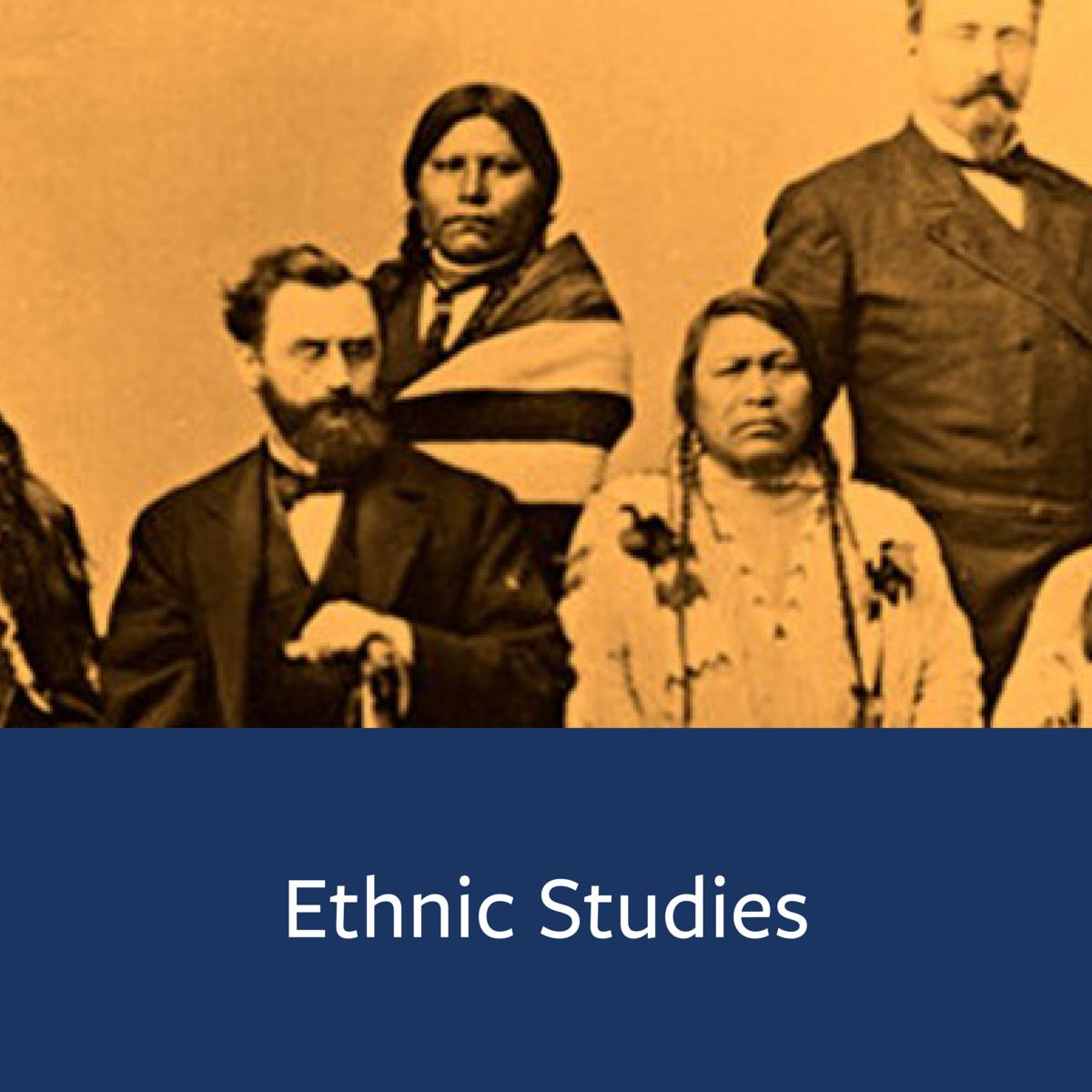 Ethnic Studies Major Map