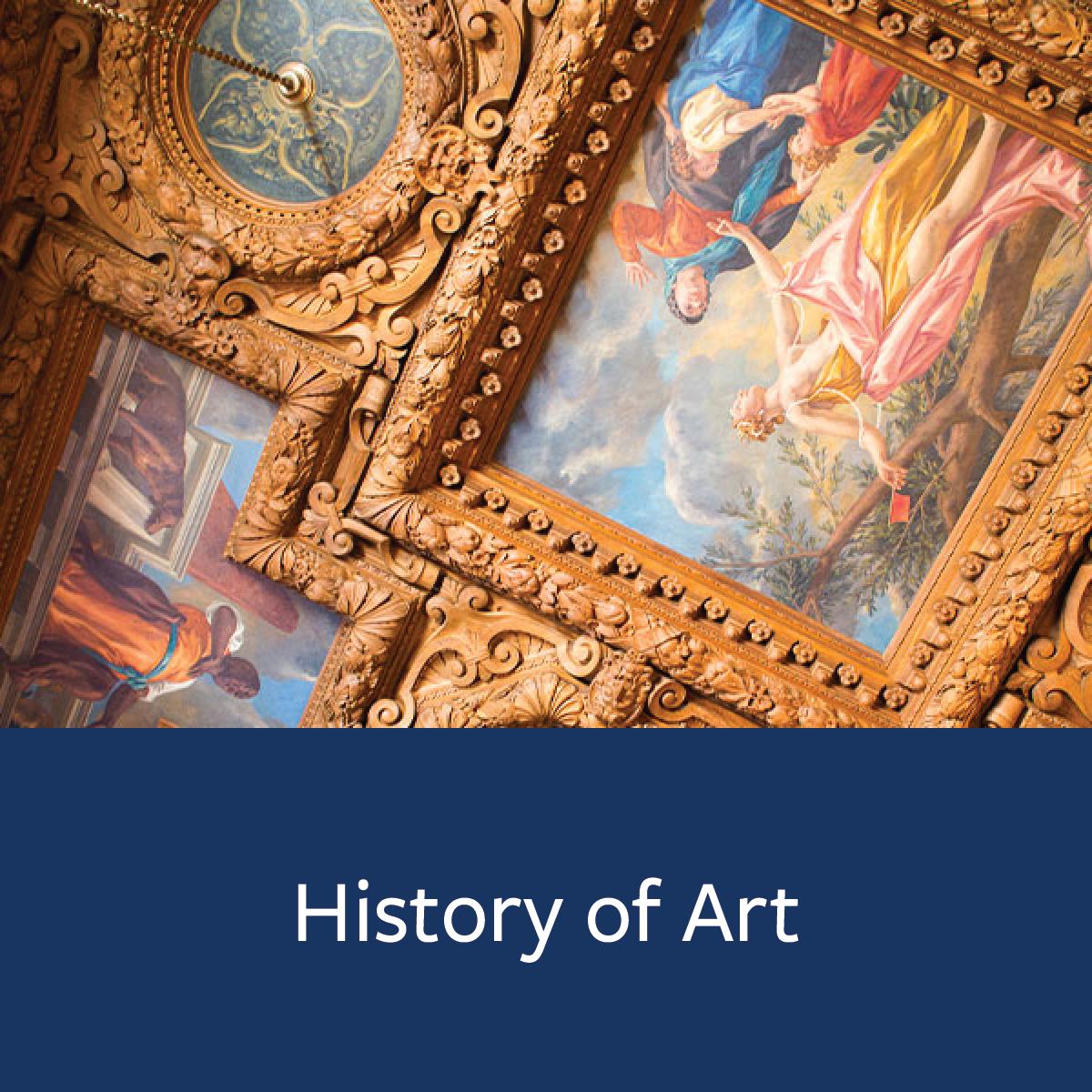 History of Art Major Map
