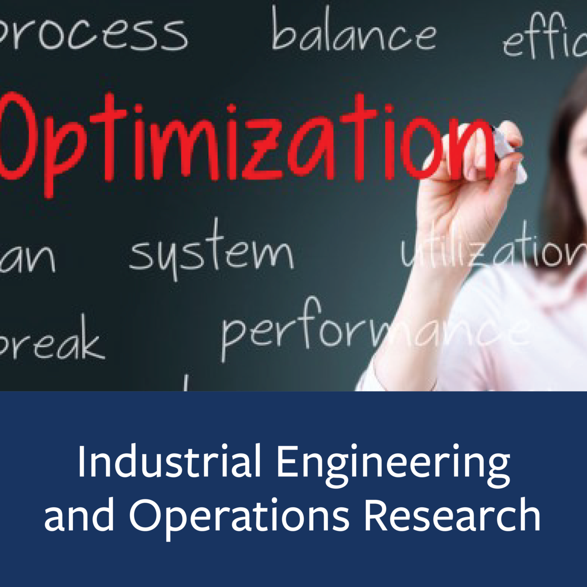 Industrial Engineering and Operations Research Major Map