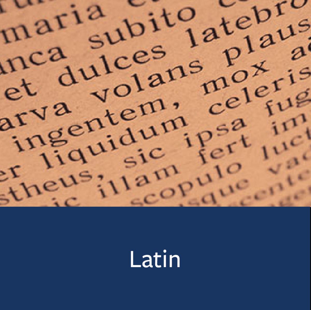 Latin Major Map