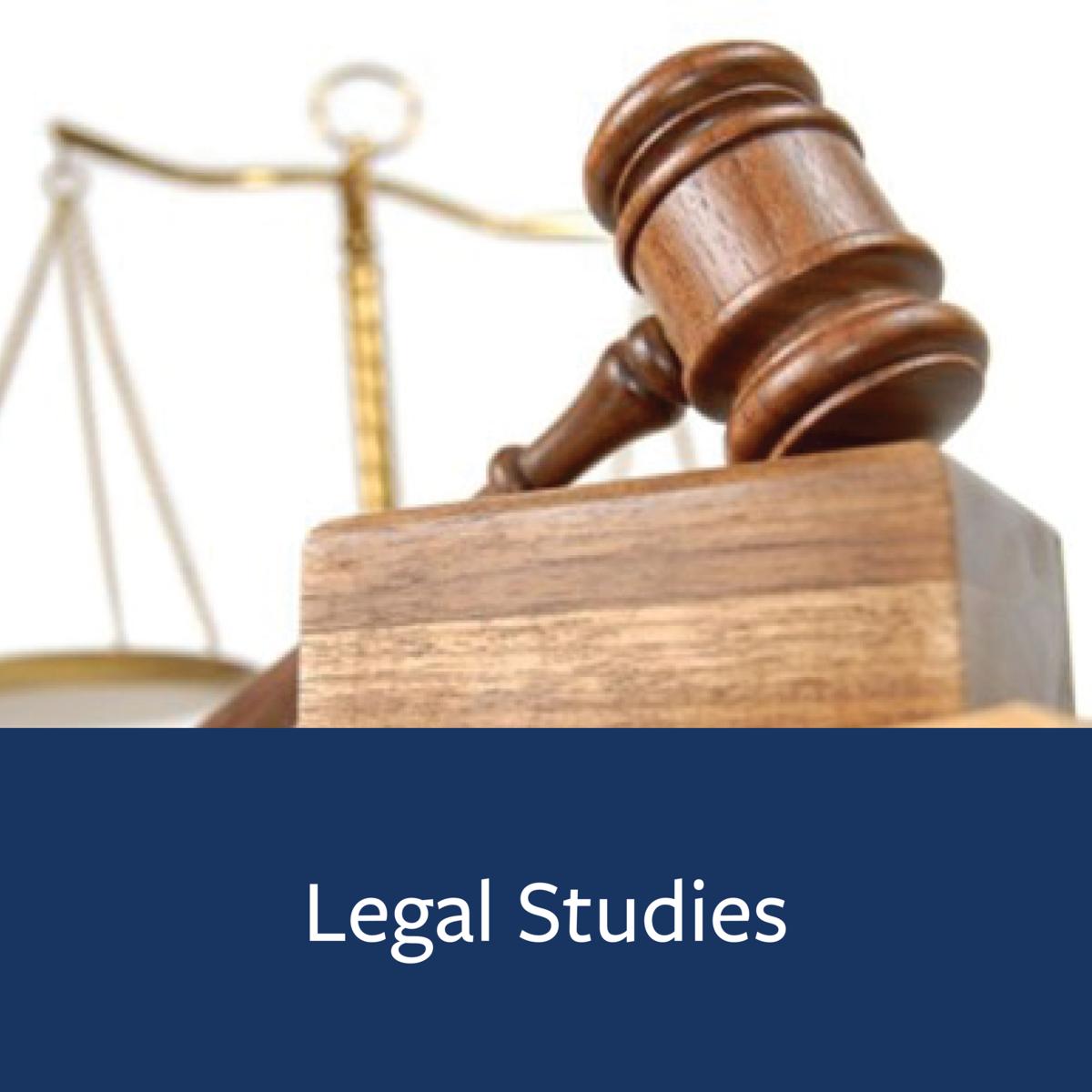 Legal Studies Major Map
