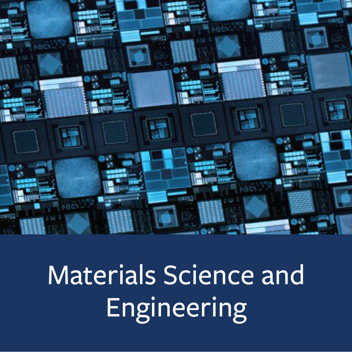 Materials Science and Engineering Major Map