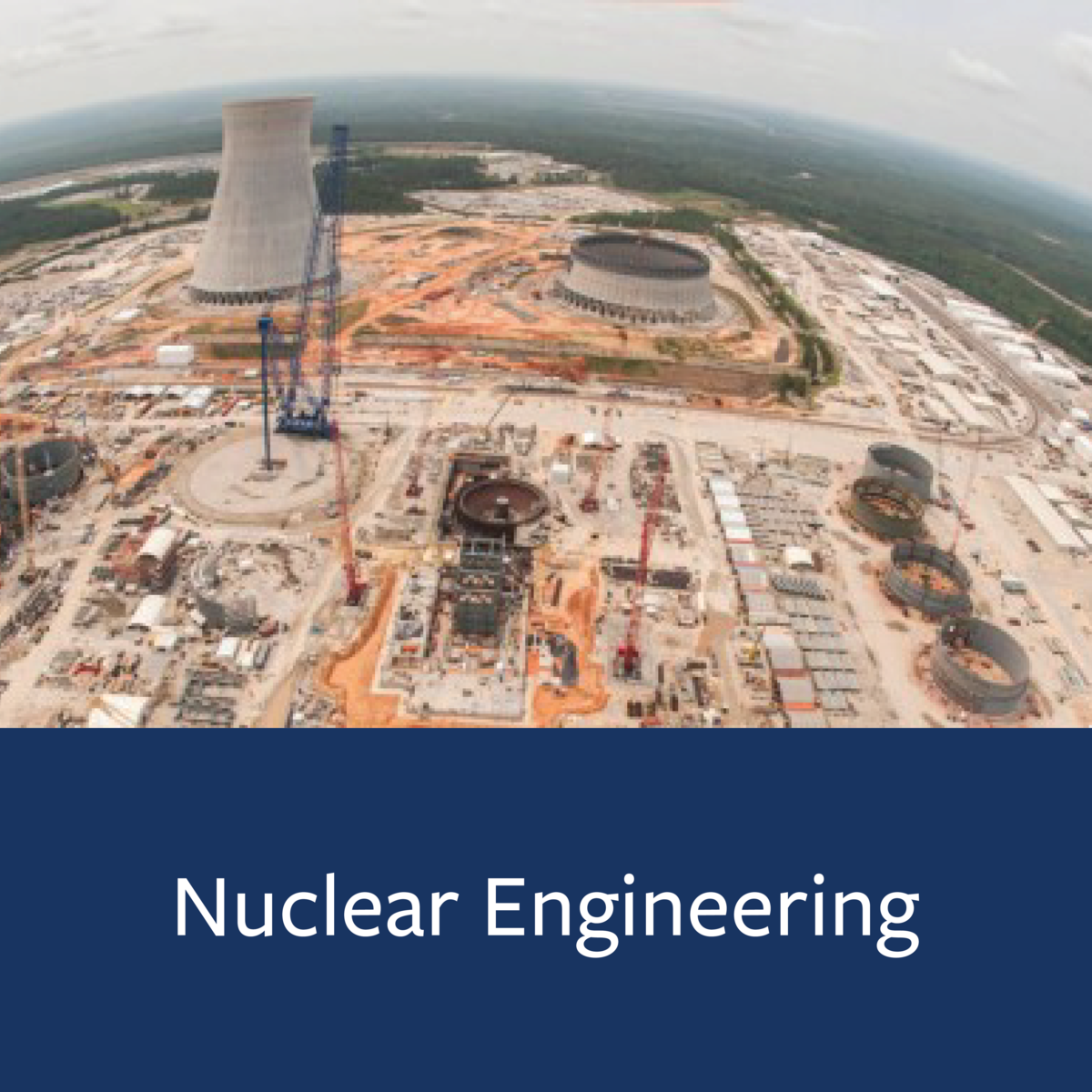 Nuclear Engineering Major Map