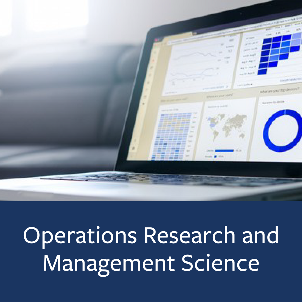Operations Research and Management Science Major Map