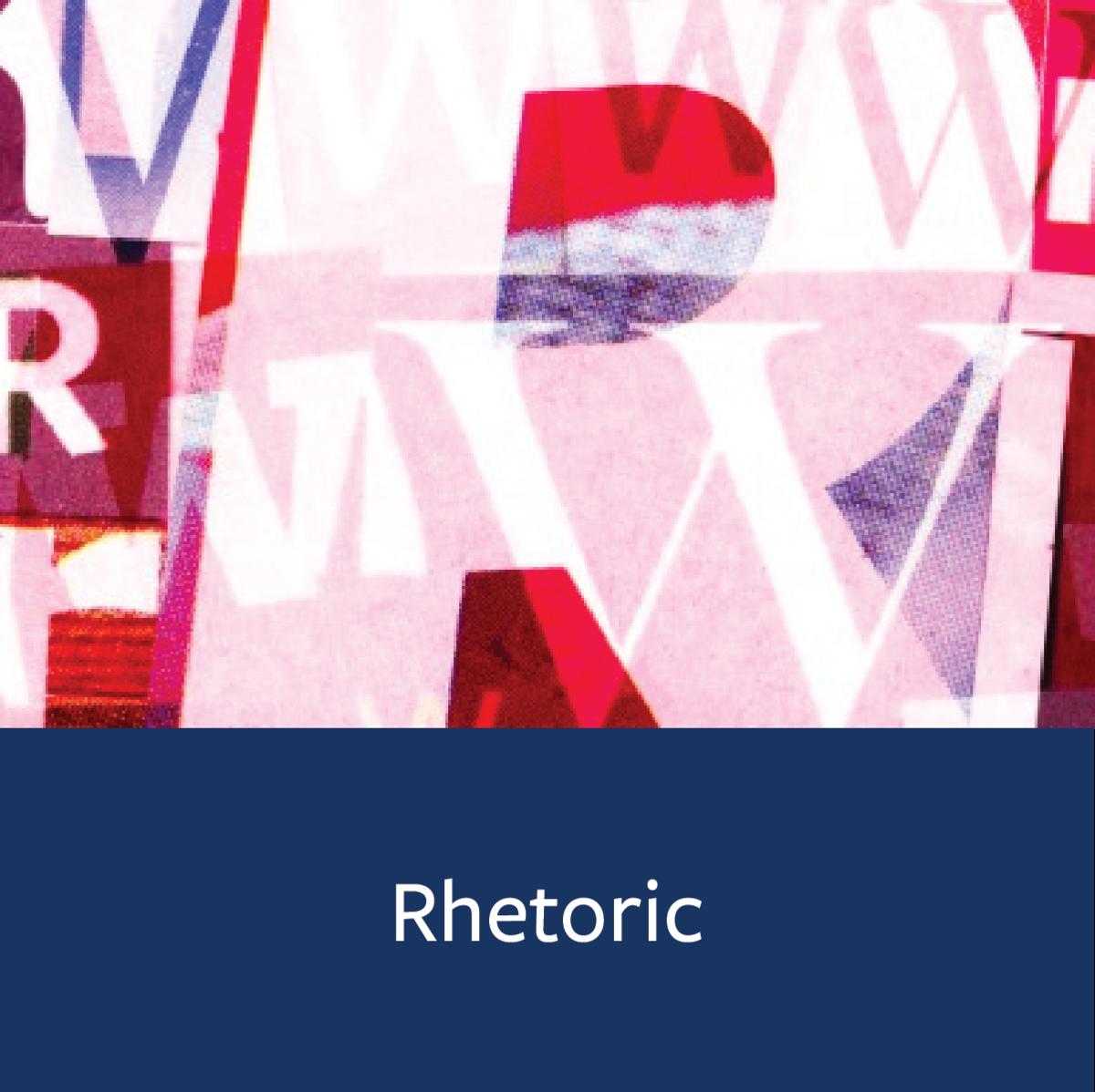 Rhetoric Major Map