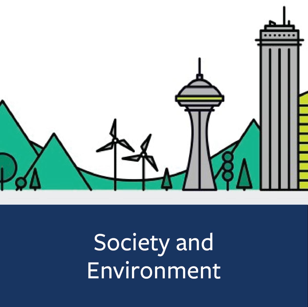 Society and Environment Major Map