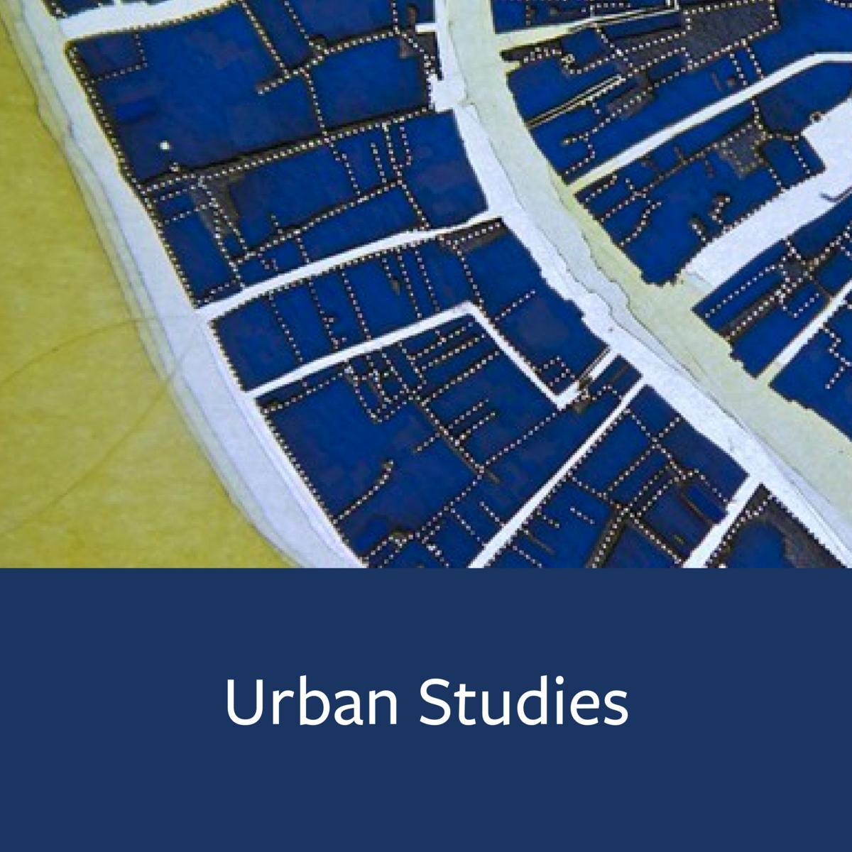 Urban Studies Major Map