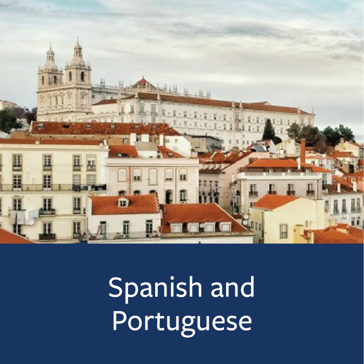 Spanish and Portuguese Major Map